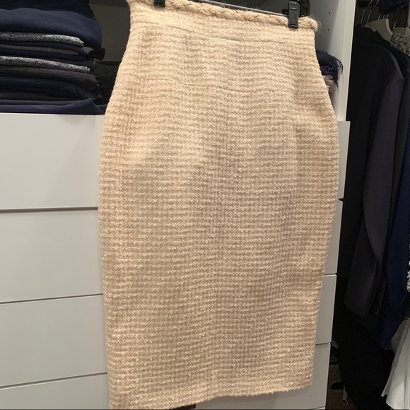 CHANEL Dresses & Skirts - CHANEL wool midi skirt